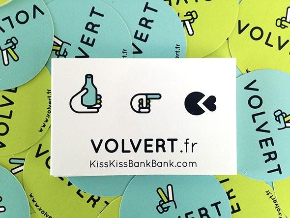 Stickers personnalisés pour Volvert