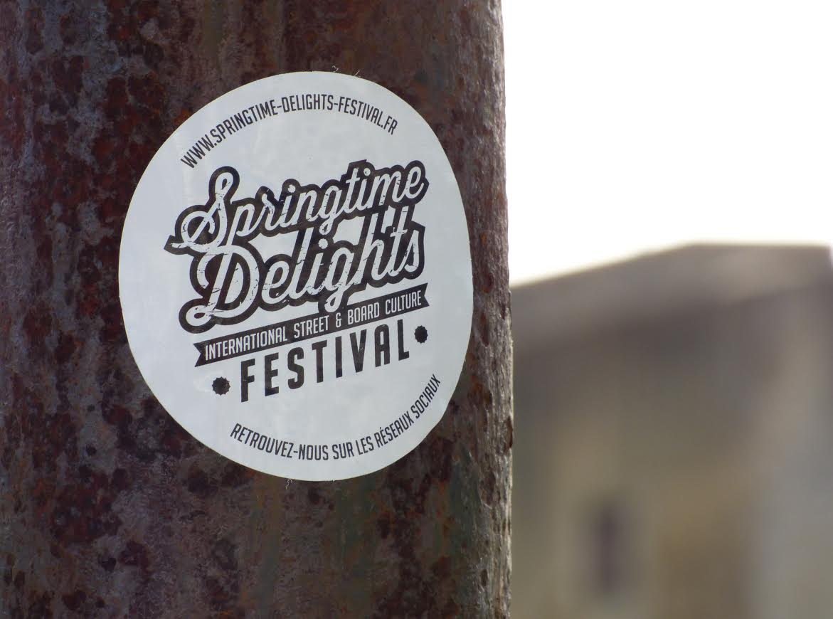 Sticker du Delights Festival