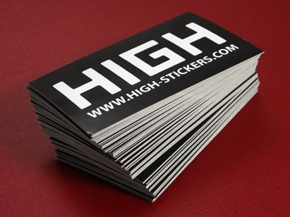 Pile de stickers personnalisés High-Stickers