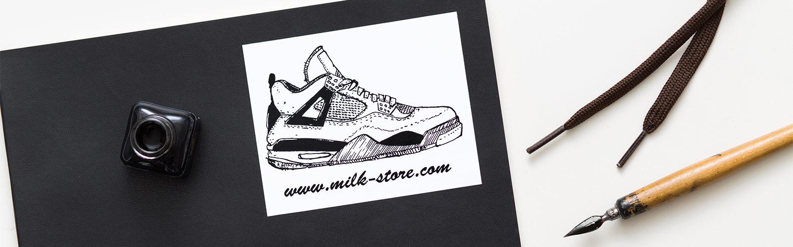 imprimer mes stickers carrés en sérigraphie noir sur vinyle blanc