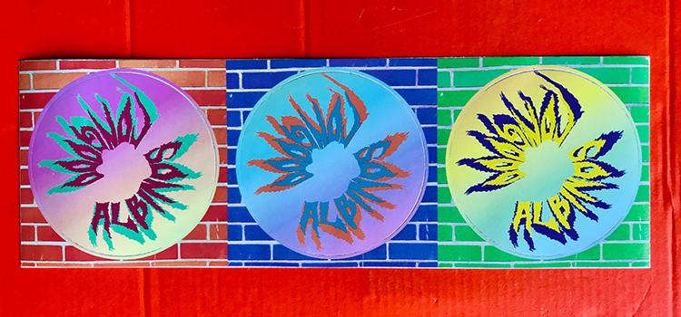 Planche de stickers différents