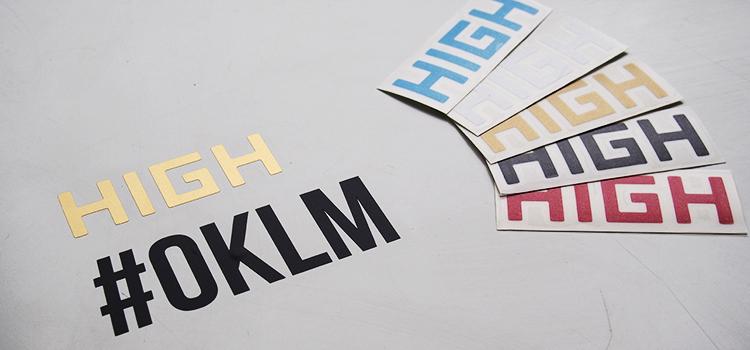 Stickers découpe de vinyle avec film transfert