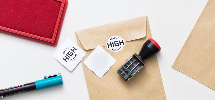 Stickers numériques de forme personnalisé découpés à l'unité
