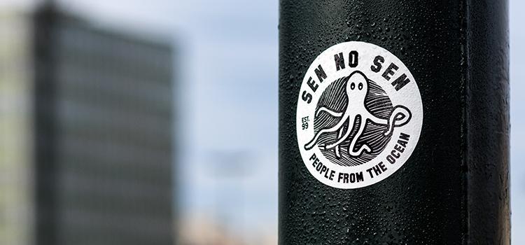 Stickers Sen No Sen en extérieur